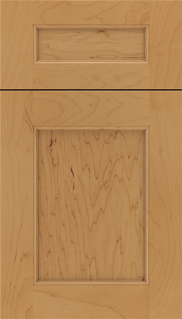 Lexington 5pc Maple recessed panel cabinet door in Ginger