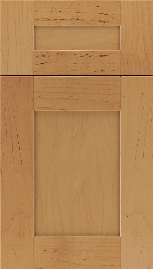 Pearson 5pc Maple flat panel cabinet door in Ginger