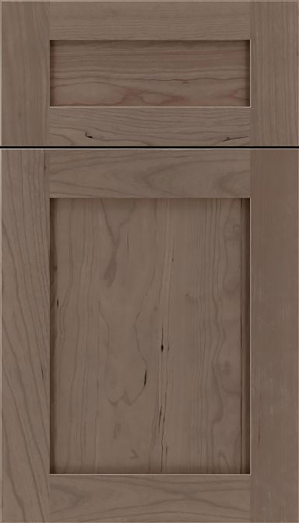 Salem 5pc Cherry shaker cabinet door in Winter