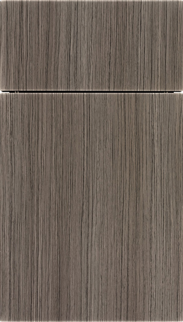 Soho Thermofoil cabinet door in Woodgrain Textured Shale