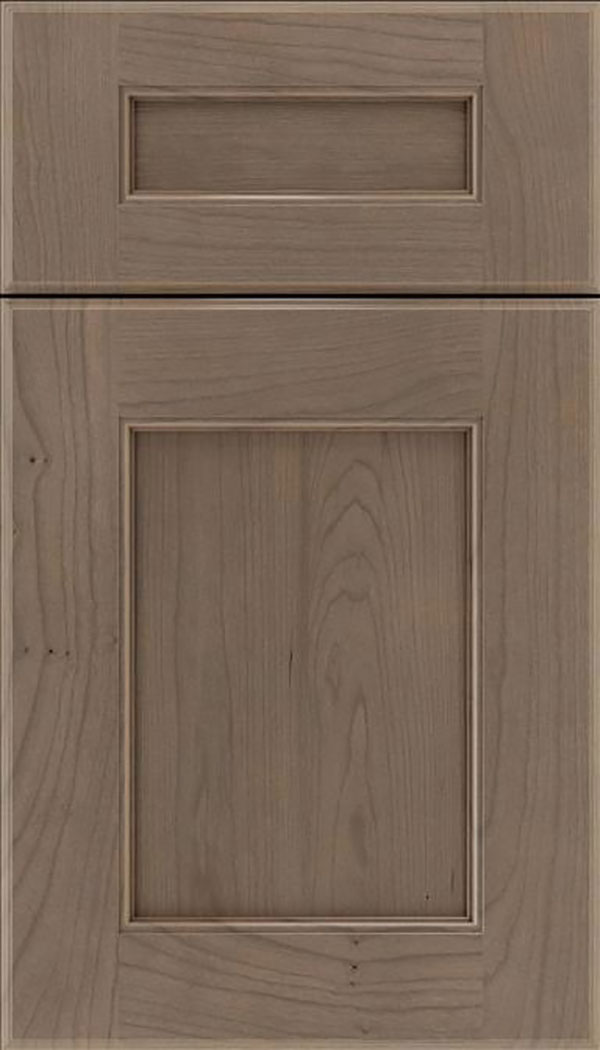 Tamarind 5pc Cherry shaker cabinet door in Winter