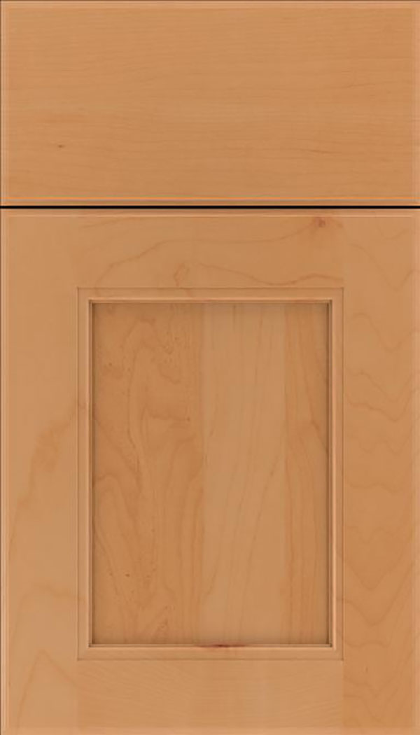 Tamarind Maple shaker cabinet door in Ginger