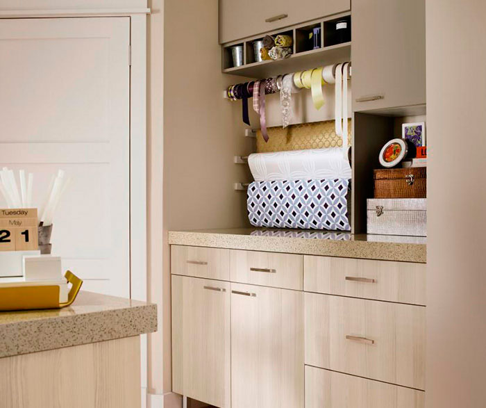 Craft Room Cabinets in Thermofoil